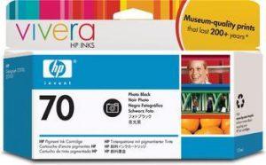 HP 70 (C9449A) inktcartridge foto zwart (origineel)-0