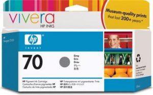 HP 70 (C9450A) inktcartridge grijs (origineel)-0