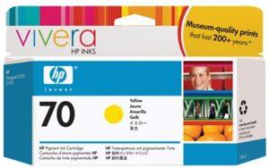 HP 70 (C9454A) inktcartridge geel (origineel)-0
