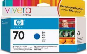 HP 70 (C9458A) inktcartridge blauw (origineel)-0