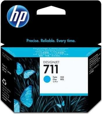 HP 711 (CZ130A) inktcartridge cyaan (origineel)-0