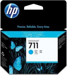 HP 711 (CZ134A) multipack cyaan 3 stuks (origineel)-0