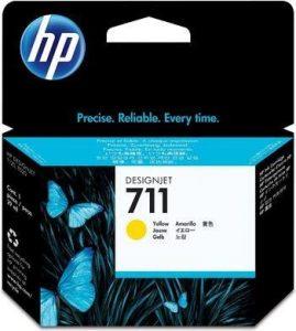 HP 711 (CZ132A) inktcartridge geel (origineel)-0