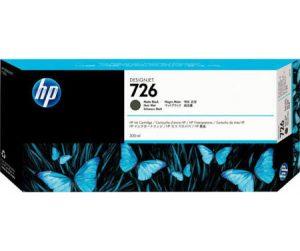 HP 726 (CH575A) inktcartridge mat zwart hoge capaciteit (origineel)-0