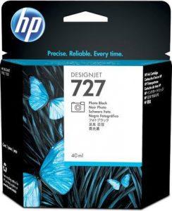 HP 727 (B3P17A) inktcartridge foto zwart (origineel)-0